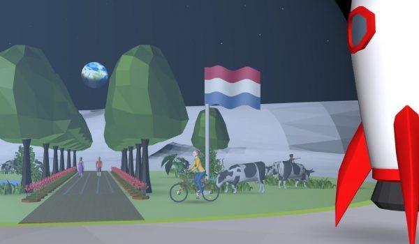 Dutch moon base CoSpaces